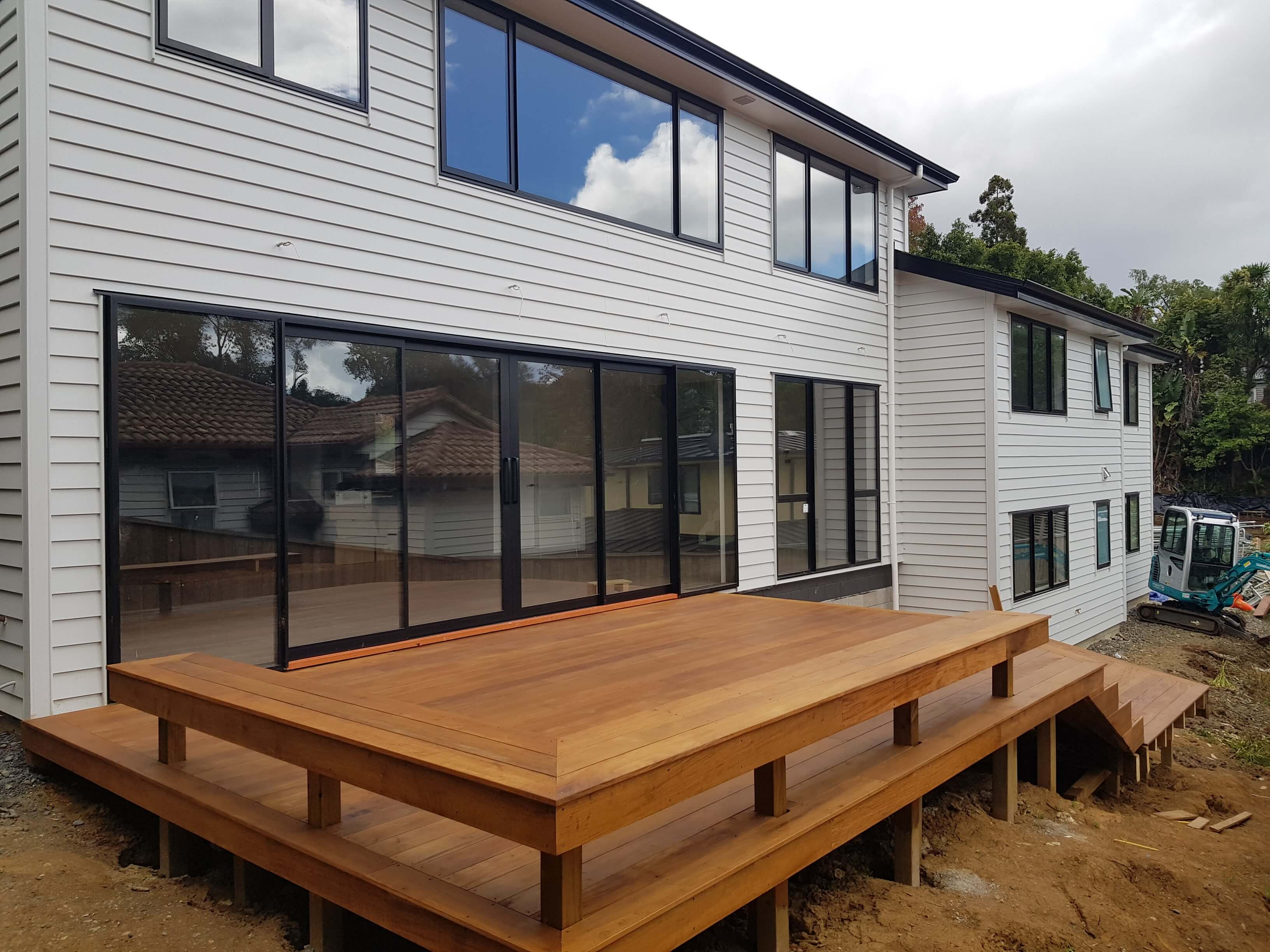 Deck with Stain