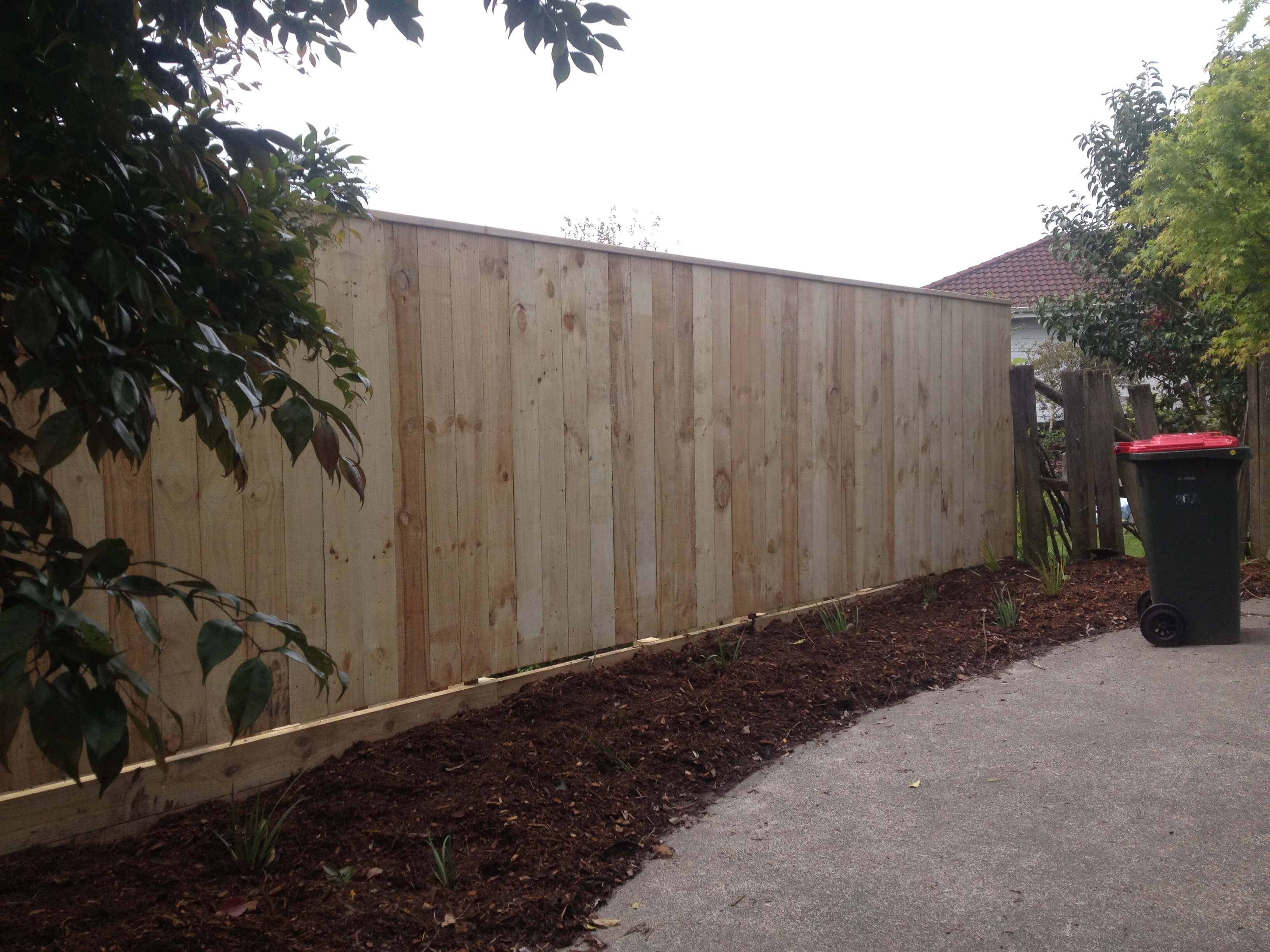Fence clean up